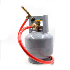 Mapp Gas Self Ignition Plumbing Turbo Torch + Hose Solder Propane Welding