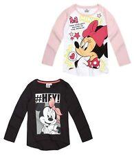 Minnie Mouse Kinder Mädchen Langarmshirt Gr. 104-140  Shirt Minnie Pullover neu!