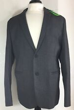 HUGO BOSS Men's Gray Grey Jacket Blazer 40R 40 R Herringbone Print NWT $395 New