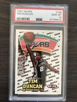 1997 Skybox NBA Hoops Tim Duncan Rookie PSA 10 San Antonio Spurs RC LOW POP!