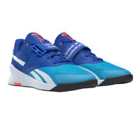 Reebok Mens Lifter PR II Training Gym Fitness Shoes Trainers Sneakers Blue