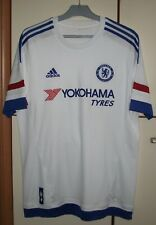 CHELSEA LONDON 2015/2016 AWAY FOOTBALL SHIRT JERSEY ADIDAS SIZE L