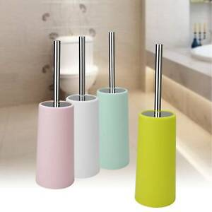 Bathroom Toilet Brush and Holder Set - Household Standing Cleaning Supplies UK