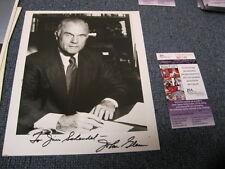 "John Glenn Autograph Photo JSA Certified ""To Jim"""