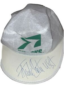 Frank Shorter USA Brooks1983 Boston Marathon Autographed Hat Vintage