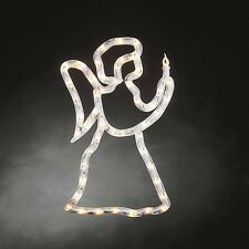 KONSTSMIDE LED Fenstersilhouette, Engel, 50 warm weiße Dioden , 230V, Innen