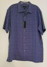 NWT Van Heusen XL shirt blue Rayon