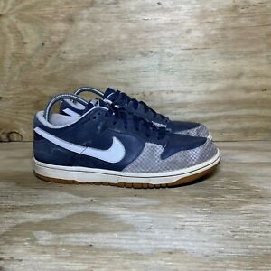 Nike Dunk Low 2008 Men's Shoes Size 8 Blue White Skate Casual Rare