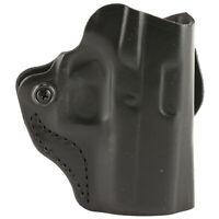DeSantis Gunhide, Mini Scabbard Belt Holster, Fits Glock 43/43X, RH BLK Leather