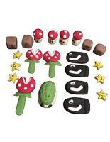 Edible Mario Accessories Cupcake Icing Cake Topper