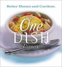 Better Homes and Gardens One Dish Dinners Cookbook Hardcover BOOK