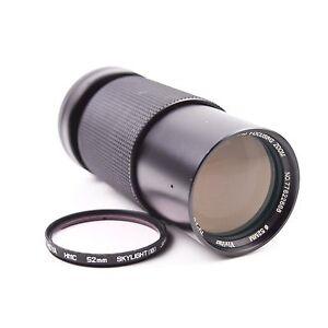 Vivitar 70-210mm f/4.5 MC Lens for Yashica - Contax Y/C