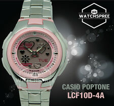 Casio Poptone Ladies Watch LCF10D-4A