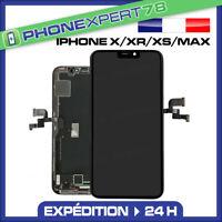 ECRAN OLED LCD VITRE TACTILE SUR CHASSIS POUR IPHONE X / XR / XS / XS MAX