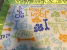 Handmade fleece pet blanket!
