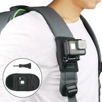 Sport Camera Backpack Clip For Gopro hero7/6/5 Black Accessories Action Cam N6G9