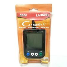 NEW LAUNCH OBDII Code Reader Creader V Scanner LCD Screen Graph Live Data
