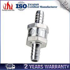 "Aluminium One Way Inline Check Valve 10mm 3/8"" Fuel Diesel Gas Petrol Liquid Air"