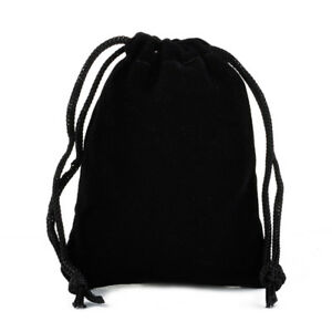 Velvet Drawstring Pouches Bags (10 pcs) Jewelry Storage Gift Bags Wedding Party