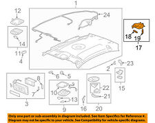 GM OEM Interior-Roof-Dome Reading Map Light 15867543