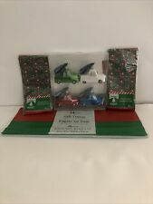 Red Truck Christmas ornaments, 24 Sheets Gift Tissue, and 4pc Truck Tissue Set