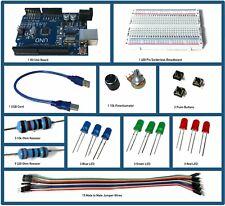 Arduino Uno R3 Starter Kit / Inlcuded Programming Tutorial/ Spearhead Robotics