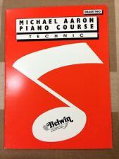 Michael Aaron Piano Course: Technic - Grade 2