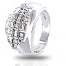 Anello Damiani fascia diamanti ring diamond bamboo oro bianco gioiello 20005911