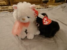 TY Classic Plush Destiny and Beanie Baby Heiress Cat