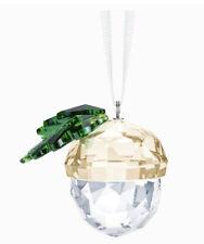 Swarovski Christmas Acorn Ornament Bnib 5464870