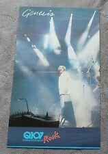 Genesis 1980s Phil Collins? Q107 Toronto Canada Radio Calender Poster VGEX C7