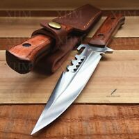 Military Outdoor Dagger Knife Tactical Hunting Combat Fixed Blade Knives EDC