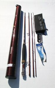 NOS Wright & Mcgill S Curve Gen 2 Fly Fishing Rod New In Orig Tube 9' 5# 4 PC