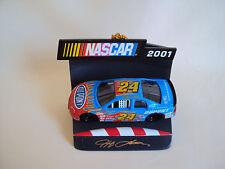 VINTAGE NASCAR 2002 # 24 CHRISTMAS ORNAMENT W/O BOX