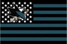 San Jose Sharks 3x5 Ft Banner Flag Hockey Grommets New American