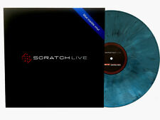 """Rane Serato 12"""" Control Vinyl marble-blue Serato DJ Serato Scratch Live (Stück)"""