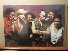 vintage Bow wow wow rock n roll original Vintage 1991 Poster 645