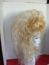 **WIG WIGS DRAG STRIKING SEXY TWO-TONE BLONDE WHITE TIP