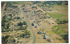 Roosevelt Utah Aerial View, Erland Preece Photo, Unused Vintage Postcard