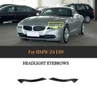 Carbon Scheinwerferblenden Eyebrow für BMW Z4 E89 09-12 Böser Blick Blenden Set
