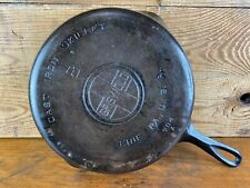 Cc16 No. 8 Griswold Cast Iron Skillet Smooth Bottom Large LOGO ~ 704 A