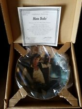 Hamilton Collection Star Wars Han Solo In Mos Eisley Cantina 1986 Porcelain.