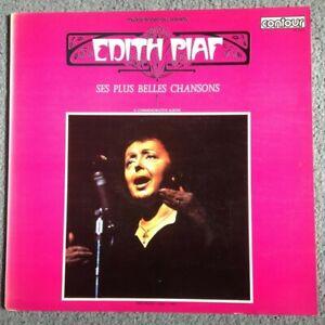 ÉDITH PIAF - Ses Plus Belles Chansons Vinyl LP (Contour) (6870505) Pop Chanson