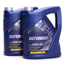 MANNOL Defender 10W-40 API SL/CF Motoröl Teilsynthetiköl 10 Liter MN7507-10