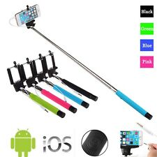 Colour Extendable Monopod Selfie Stick With Adjustable Holder for LG Smartphones
