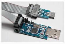 6 pin + 10 pin USBasp USB ISP ICSP Programmer Arduino MMC Atmega8 STK500 AVR-ISP