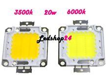RICAMBIO 20W LED COB 6000K CHIP FARO POWER 700mA DC 30V-36V 1800 Lumen **