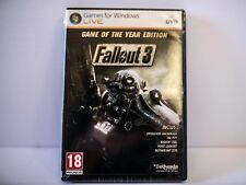 Fallout 3 Game Of The Year Edition (SEALED) - French cover