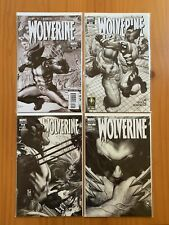 Wolverine lot #50, #53, #54 and #55 B&W variant covers Loeb, Bianchi