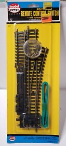 Model Power, remote control switch left with replaceable motor #50. NIP